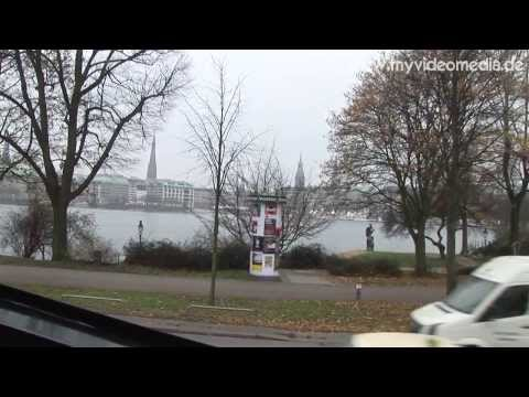 Hamburg, Citytour by Bus, Part1 - Germany HD Travel Channel