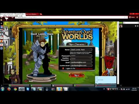 =AQW= Dark Mystic Badge Hack 2012 August