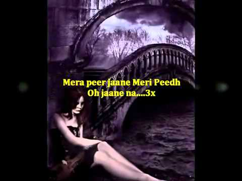 Mera Peer Jaane With Lyrics video