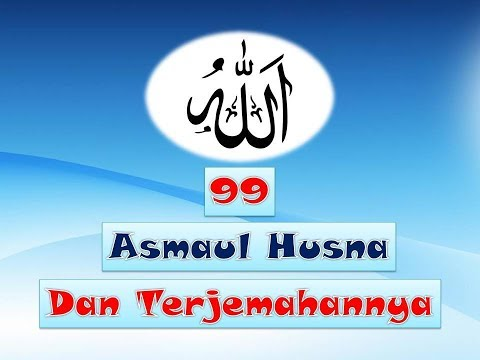 Asmaul Husna Dan Terjemahan