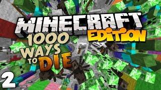 Top 10 Ways to Die in Minecraft (1000 Ways to Die) Part 2