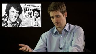 """Edward Snowden: """"Elvis Presley was assasinated by the CIA"""""""