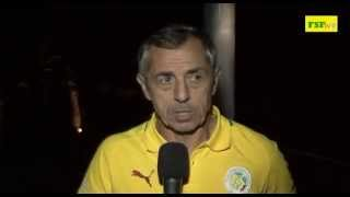 Eliminatoires CAN 2015 | Réaction de Giresse après le match Tunisie // Sénégal