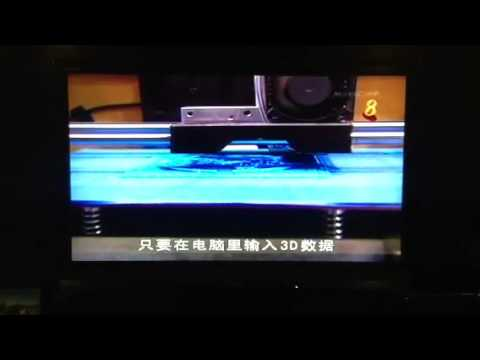 3D Printer on Singapore News (Channel 8)