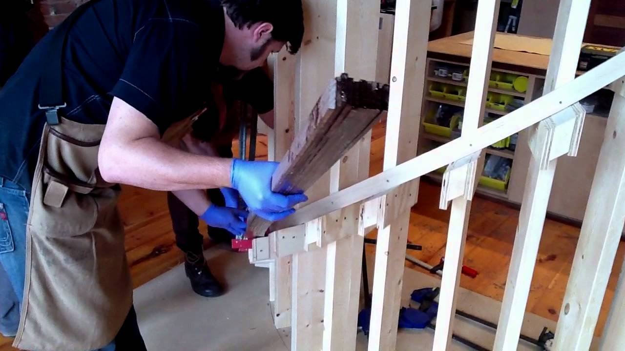 Curved Handrail For Spiral Staircase Youtube