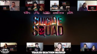 Suicide Squad - Official Trailer #1 (Reaction Mashup)