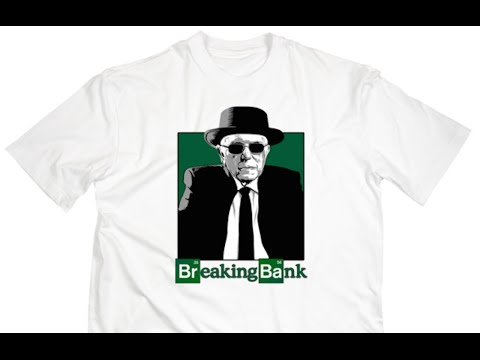 """Last Chance To Get Your """"Breaking Bank"""" Bernie Sanders Shirts"""