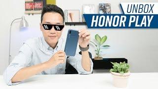 Mở hộp & đánh giá nhanh Honor Play: smartphone chuyên chơi Game giá rẻ nhất