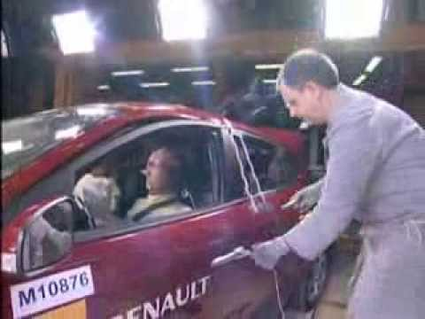 Renault Mégane Crash Test 2008