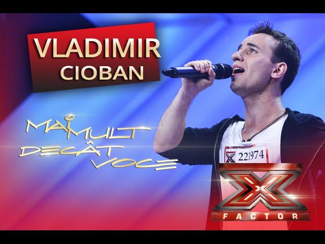 Sia - Titanium. Vezi aici cum cântă Vladimir Cioban la X Factor!