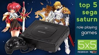 Top 5 Sega Saturn RPG'S