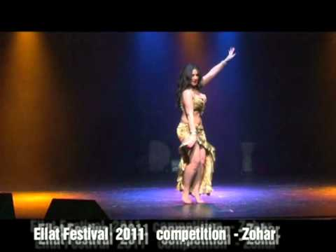 finalist at bellydance competition in Eilat festival 2011