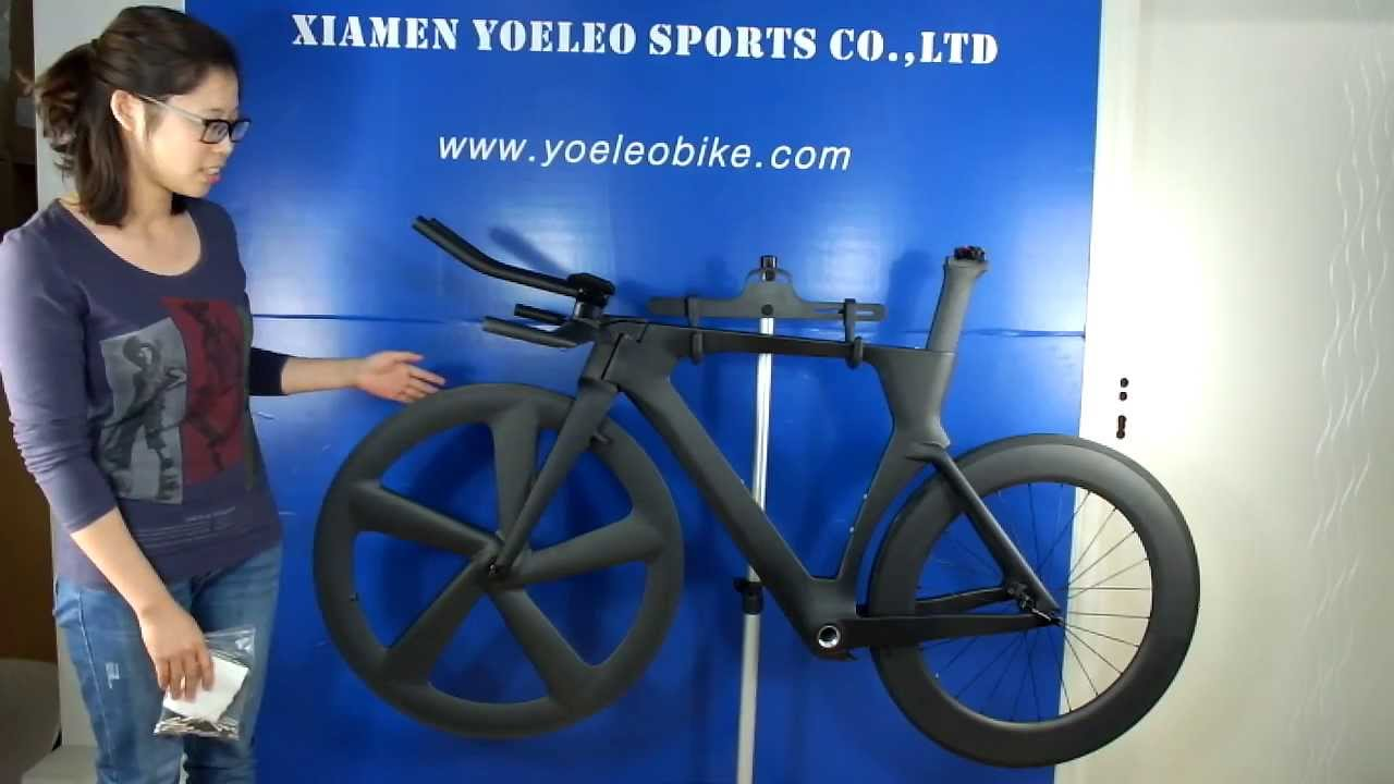 Time Trial Carbon Frame Yoeleo Aero Time Trial Bike