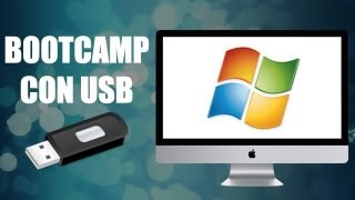 Cómo instalar Windows 7 y 8 en Mac con USB (Bootcamp)