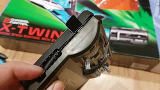 X-Twin Jet RC Plane by Silverlit close up look