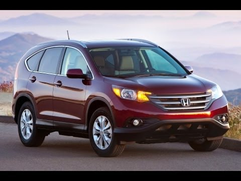 2014 Honda CR V Start Up and Review 2.4 L 4-Cylinder
