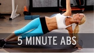 How to Lose Belly Fat: 5 Minute Abs