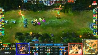 Video clip [LCS EU Mùa Hè 2013] [T8 - N1] SK vs ATN [03.08.2013]