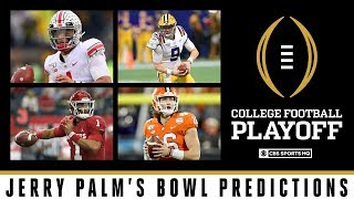Jerry Palms 2019 Bowl Predictions | CBS Sports HQ