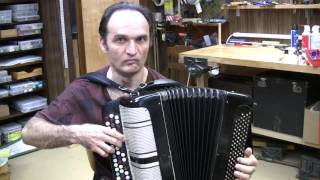 Bayan (Button Accordion) Review 2 (Recorded on 2016-06-26)