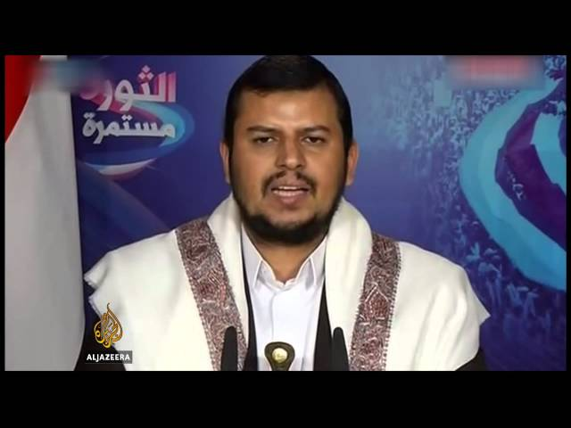Houthis hold rally following Yemen's coup