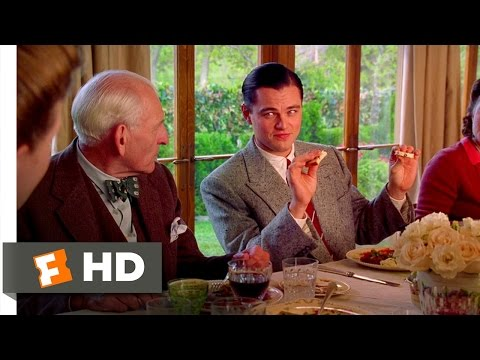 The Aviator (2/6) Movie CLIP - Dinner with the Hepburns (2004) HD