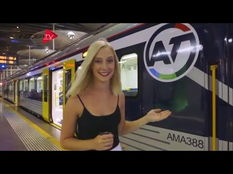 AT Electric Trains | Auckland