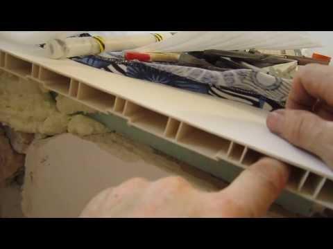Как снять пластиковый подоконник своими руками