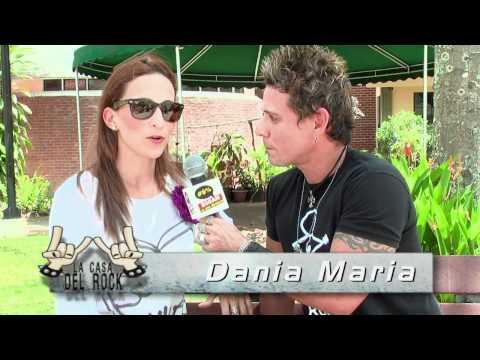 Dania Maria En La Casa Del Rock MARZO 2012 .mp4