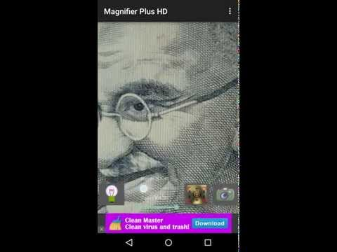 Use Android phone as magnifying glass