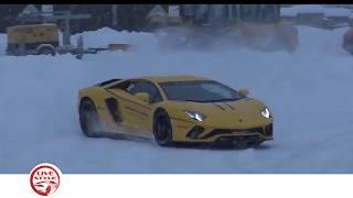 BEST of SUPERCAR SNOW WINTER DRIFT and DONUT COMPILATION 2019
