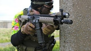 Airsoft War. Fife War Games, Crail, Scotland HD