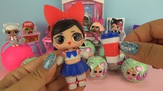 Куклы ЛОЛ Леди АНИМЕ / L.O.L. Surprise Series 2 Ball Toys Baby Doll and Color Changing