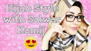 Hijab Style with Salwar Kamij 2016