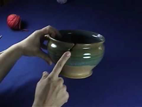 Knit Witch Yarn Bowl Demonstration