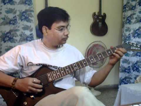Chand mera dil solo on Guitar
