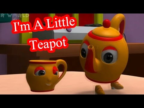 George Harold Sanders And Clarence Z Kelley - Im A Little Tea Pot The Teapot Song