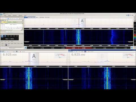 6925 kHz X-FM Shortwave (Pirate) in ISB Stereo using SDR Console V2