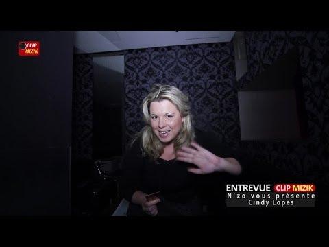 Cindy Lopes dans Entrevue Clip Mizik animée par N'zo