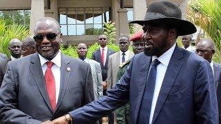 Hope for South Sudan peace as President Kiir, former VP Machar  meet for peace talks