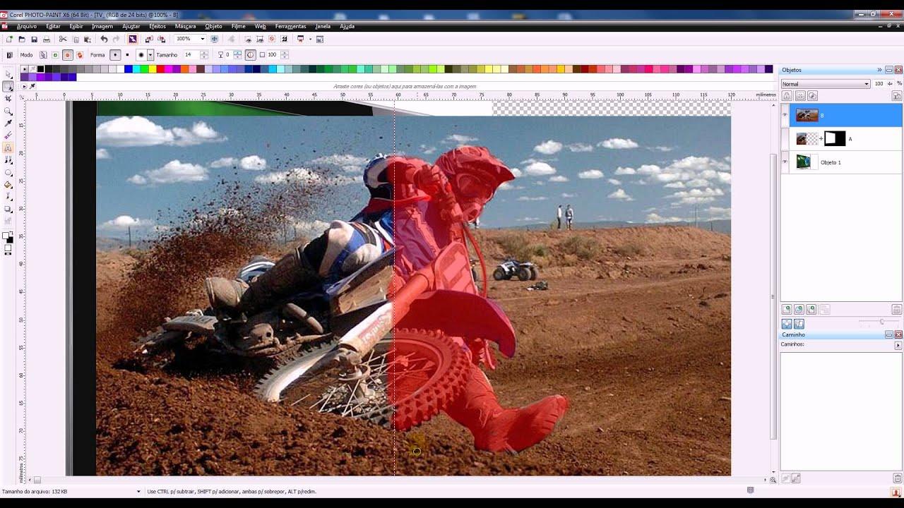 Corel Photo Paint x6 Efeito