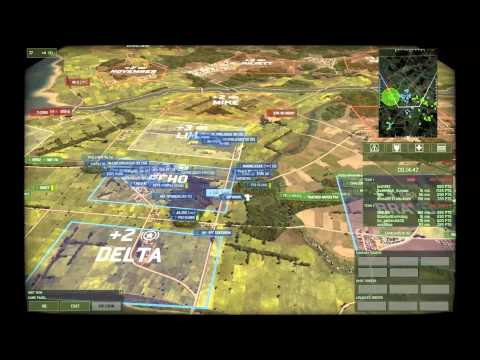 Wargame: Red Dragon - Gameplay - Epic Scandinavia on Paddy Fields (4v4)