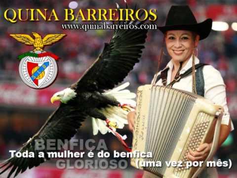 NOVO DISCO 2012 QUINA BARREIROS - TODA A MULHER É DO BENFICA (UMA VEZ POR MÊS).wmv