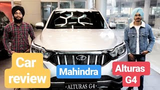 Mahindra Alturas G4- The new Rexton  Review  Feature loaded   CarOholic