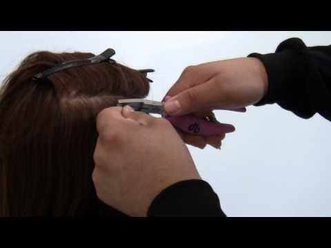 Proper Installation of Micro-Bead Hair Extensions