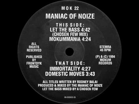 Maniac Of Noize - Domestic Moves -- MOK 22