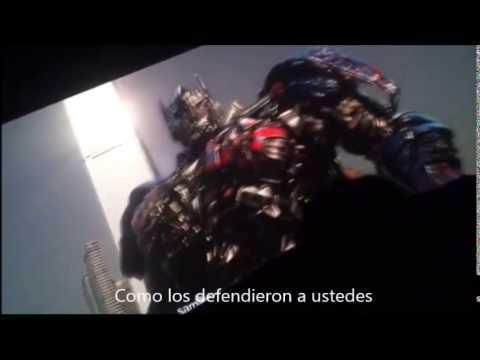Transformers La Era de la Extinción escena Final Subtitulado Por Este canal no copie de otro video