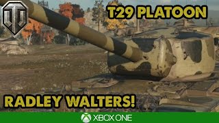 WoT Console - T29 PLATOON- BIG DAMAGE! (Xbox One/PS4)
