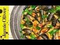 Romantic Mussels Pasta E Fagioli | Katie Pix