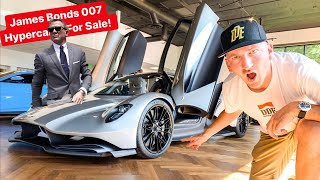 """DANIEL CRAIG'S"" 007 BOND HYPERCAR IS VERY REAL & FOR SALE! *SHOULD WE BUY ONE?"""